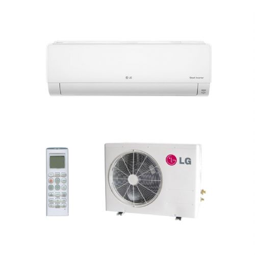 Lg Air Conditioning Deluxe DM12RP.NSJ Wall Mounted Heat Pump Inverter 3.5Kw/12000Btu A++ 240V~50Hz